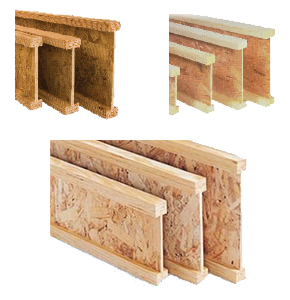 Examples of I-joists