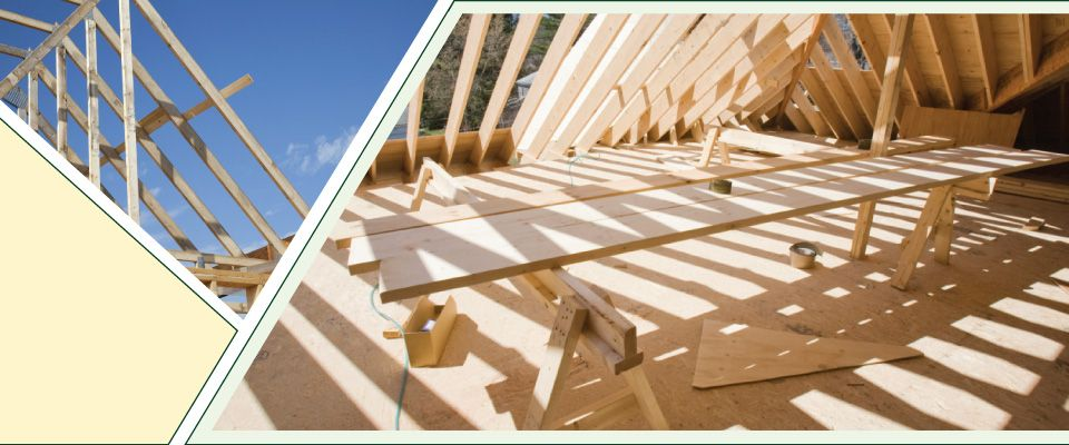Roof and joists